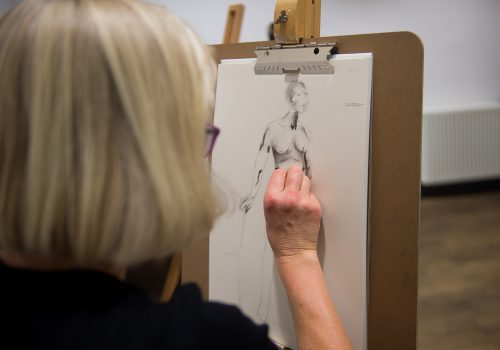 Life drawing course from dot-art
