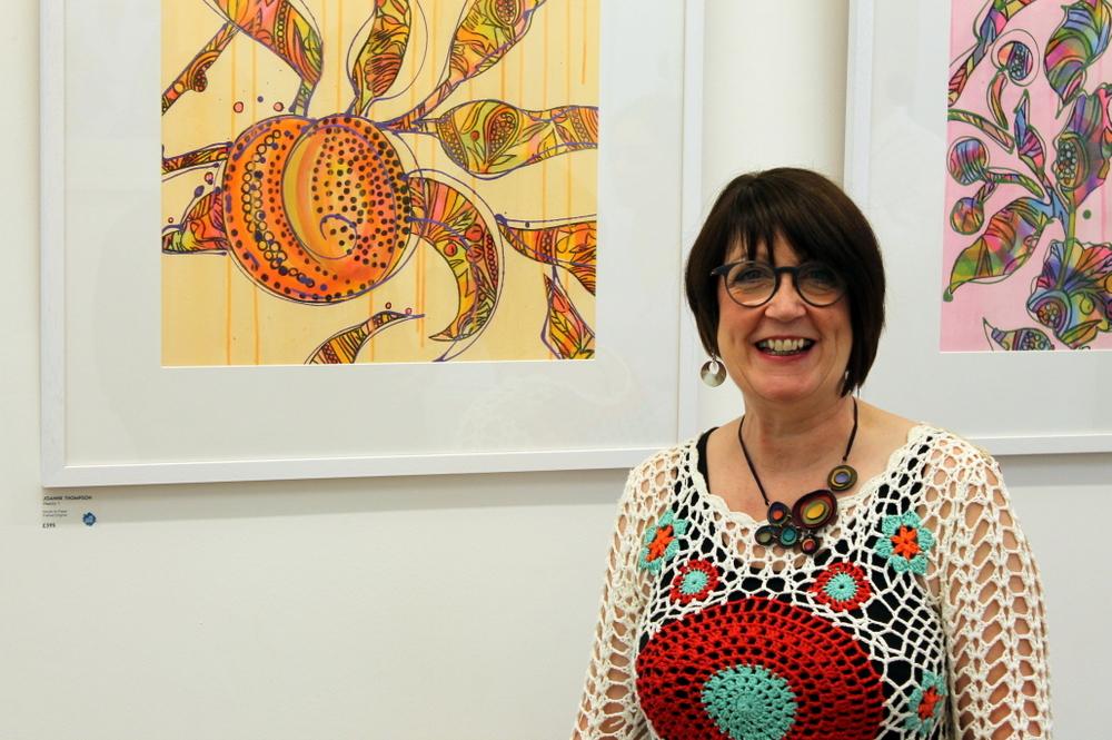 joanne thompson dot-art gallery