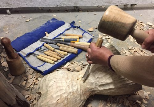 wood carving classes in liverpool with faith bebbington