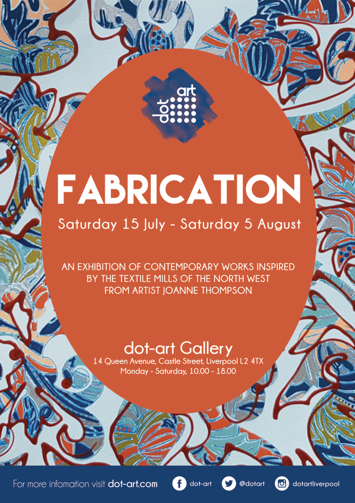 fabrication joanne thompson dot-art liverpool gallery