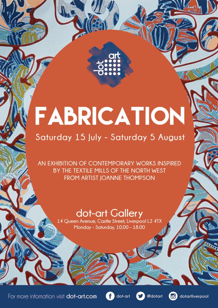 fabrication joanne thompson dot-art liverpool gallery