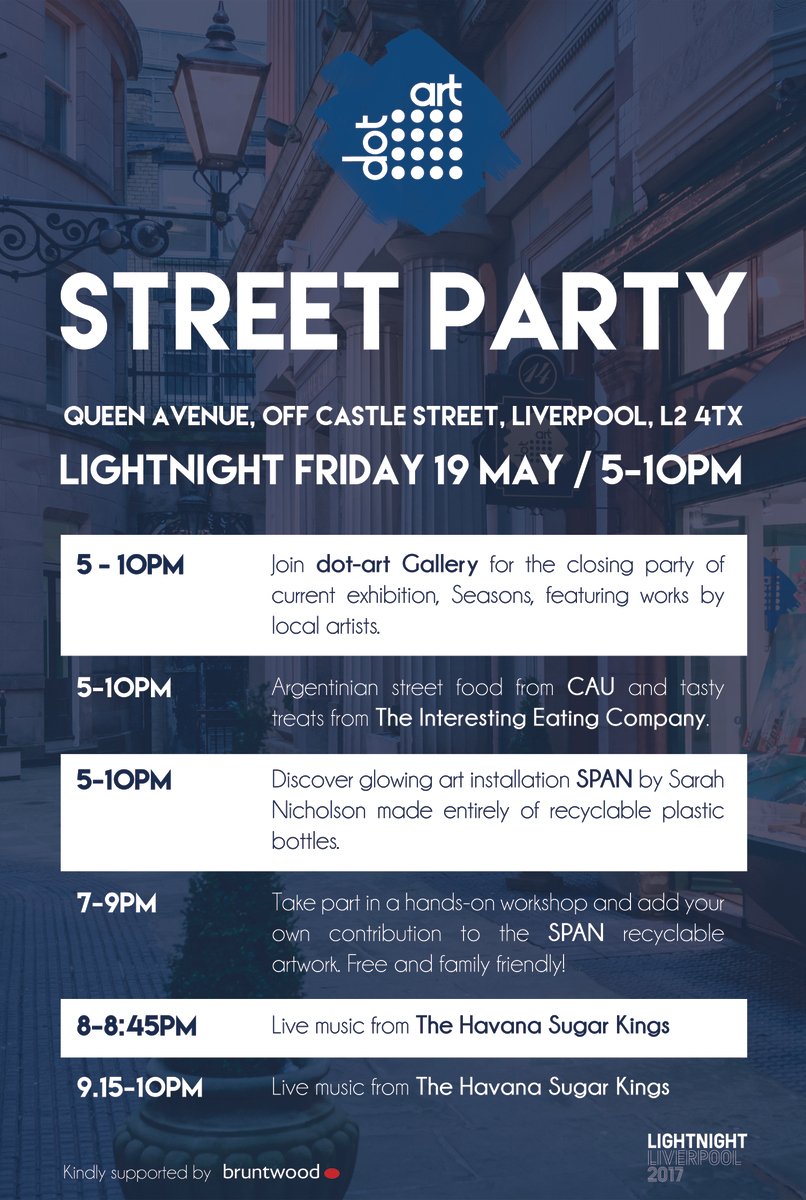 lightnight dot-art street party 2017