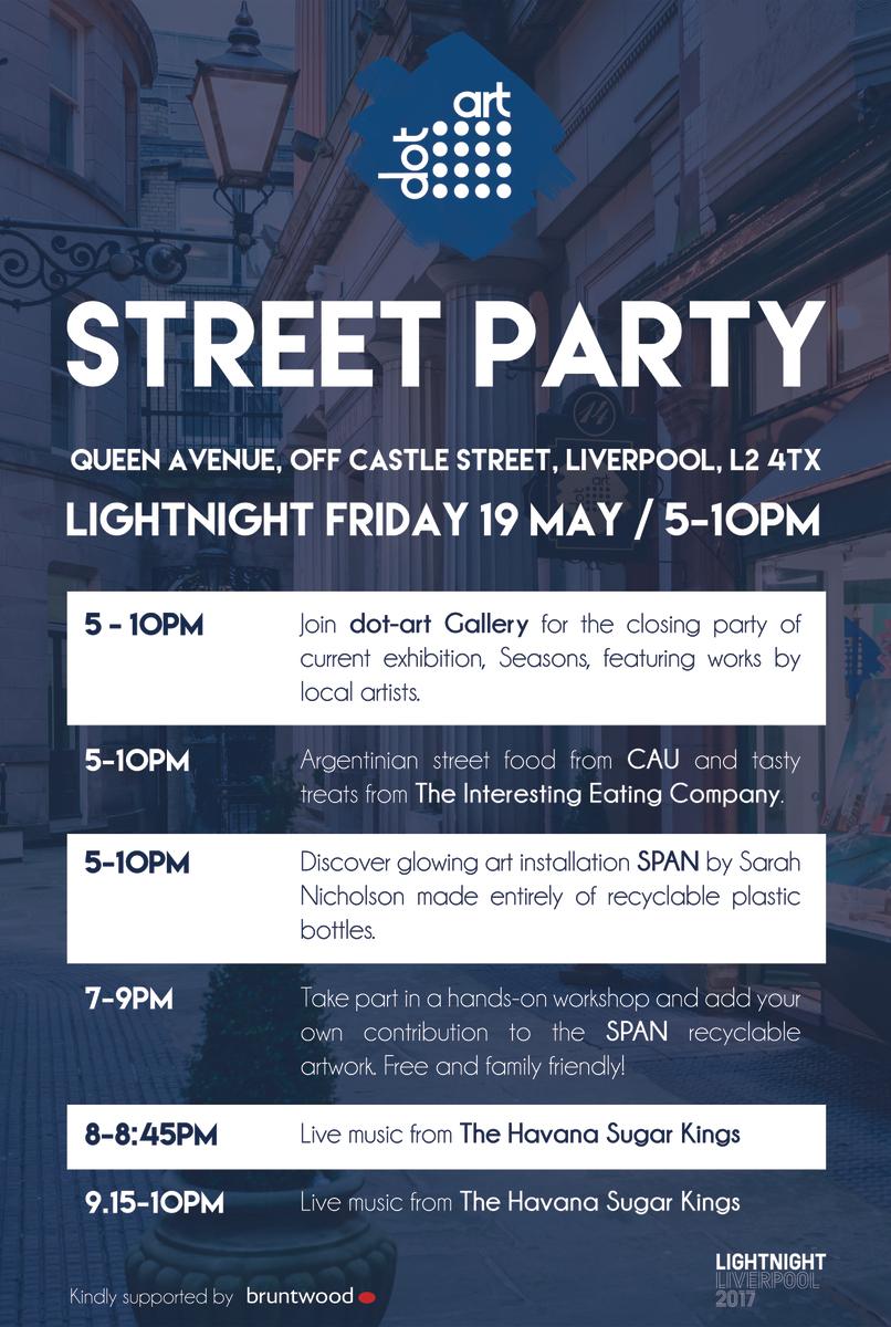 lightnight dot-art street party 2017