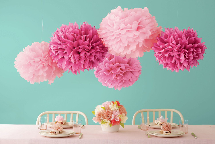Pom Pom Flower Workshops