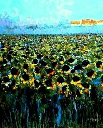 sunflowers by catherine evans jones