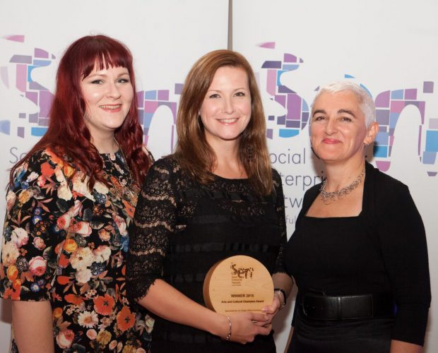dot-art win at the SEN Awards