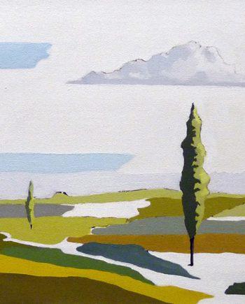 Landscape by Frank Linnett