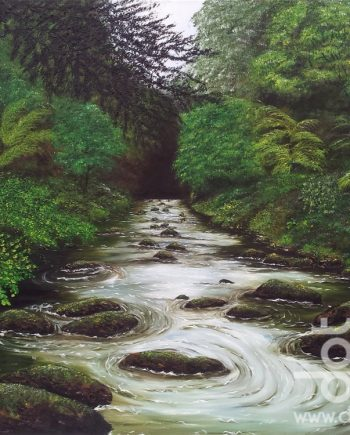 River Dance by Hazel Thomson