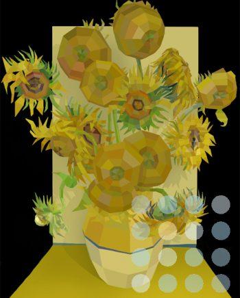 Sunflowers by Paul Vera Broadbent