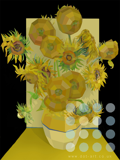 Sunflowers by Paul Vera Broadbent