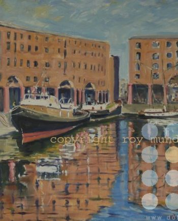 albert dock 1960s by roy munday
