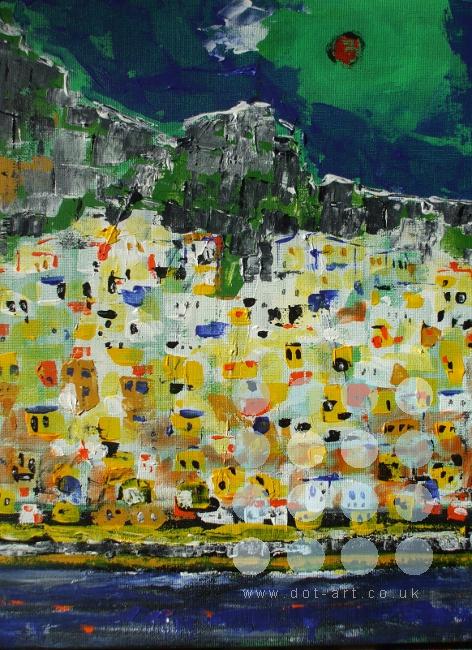 amalfi scene by winston douglas