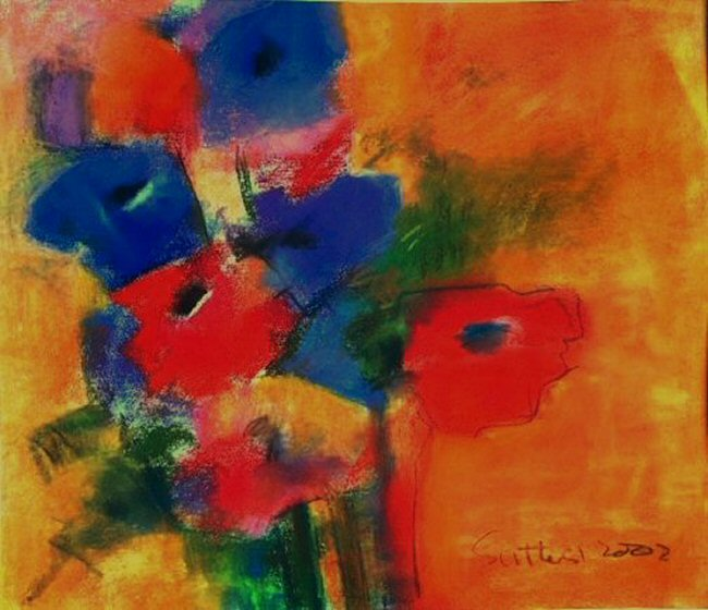 anemones (redon style) by john sutherst
