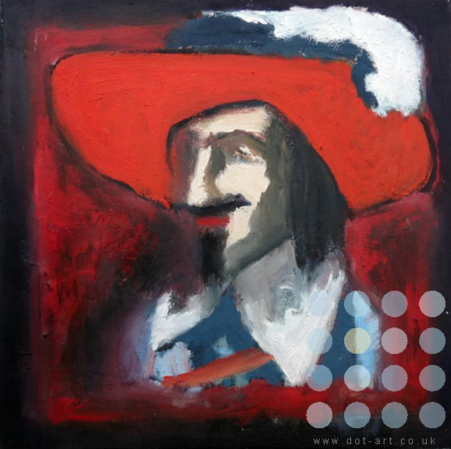 charles I in a red hat by frank linnett