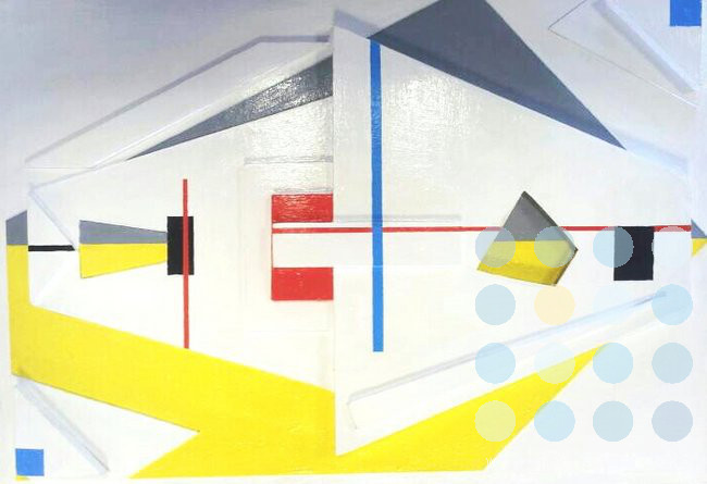 composition no 1 by mike rickett