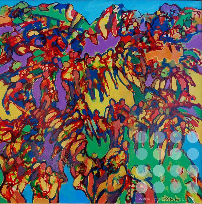 figurescape 1 by david brightmore