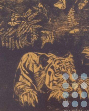 sumatran flora fauna and tiger by susan lee brown