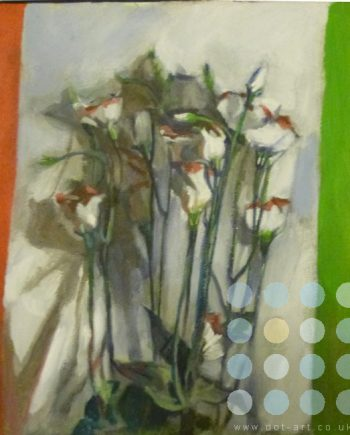 flowers in a cornell box by katherine dereli