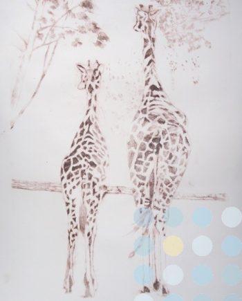 rothschild giraffes by susan lee brown