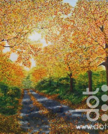 glorious autumn by hazel thomson