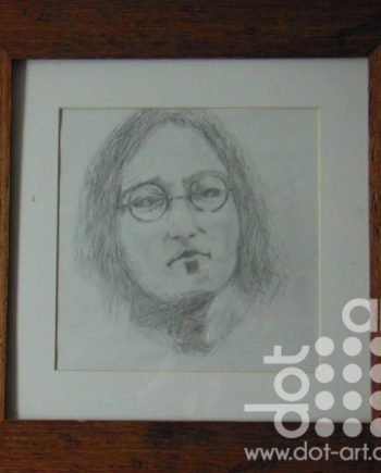 john lennon in thought by martin kavanagh