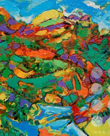 landscape celebration 18 by david brightmore