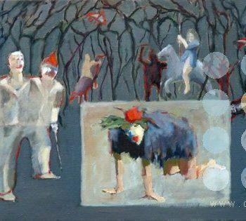 le grand theatre du monde III by frank linnett