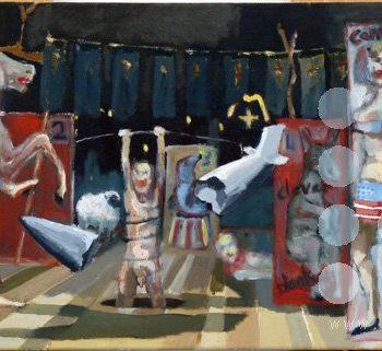 le grand theatre du monde II by frank linnett