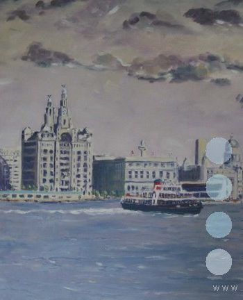 liverpool waterfront by roy munday