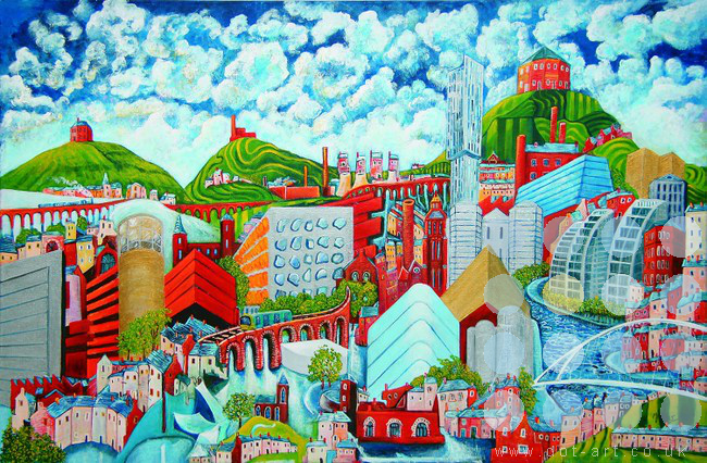 metropolis by mark nelson