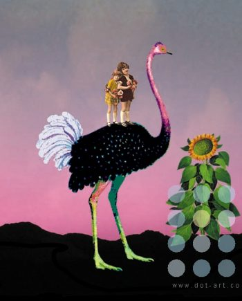 ostrich by olga snell