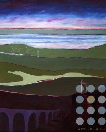 pale horse landscape by frank linnett