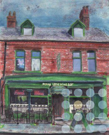 penny lane wine bar liverpool by jane adams