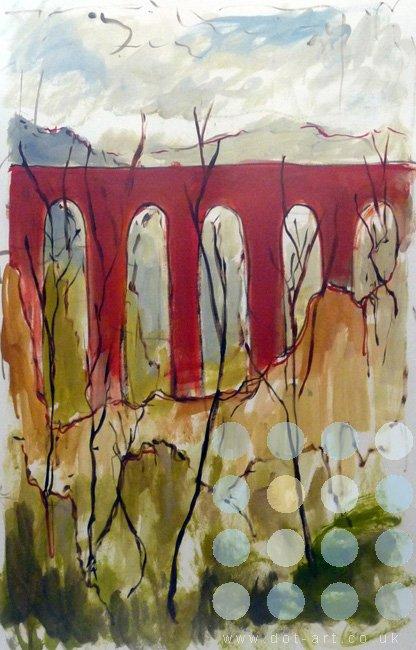 red bridge by frank linnett