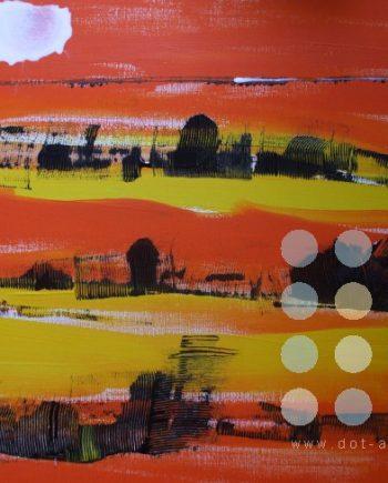 red landscape by winston douglas