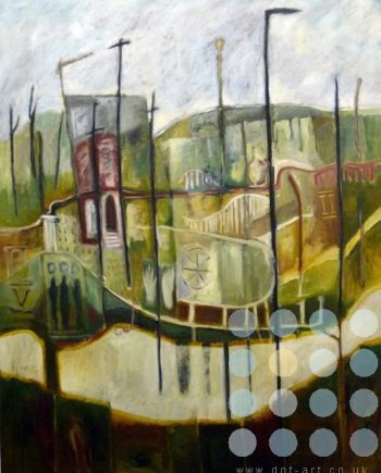 refigured landscape by frank linnett