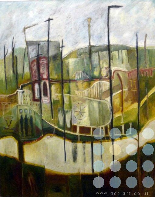refigured landscape by frank linnett