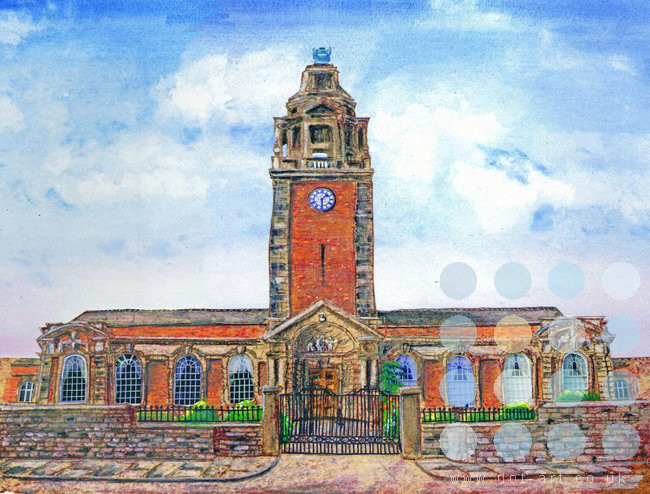 the blue coat school liverpool by jane adams