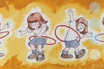 the hula hoop by david broadfoot