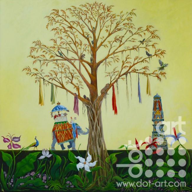 The Banyan Tree by Frank Linnett