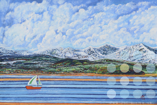 Across The Bay by Mark Nelson
