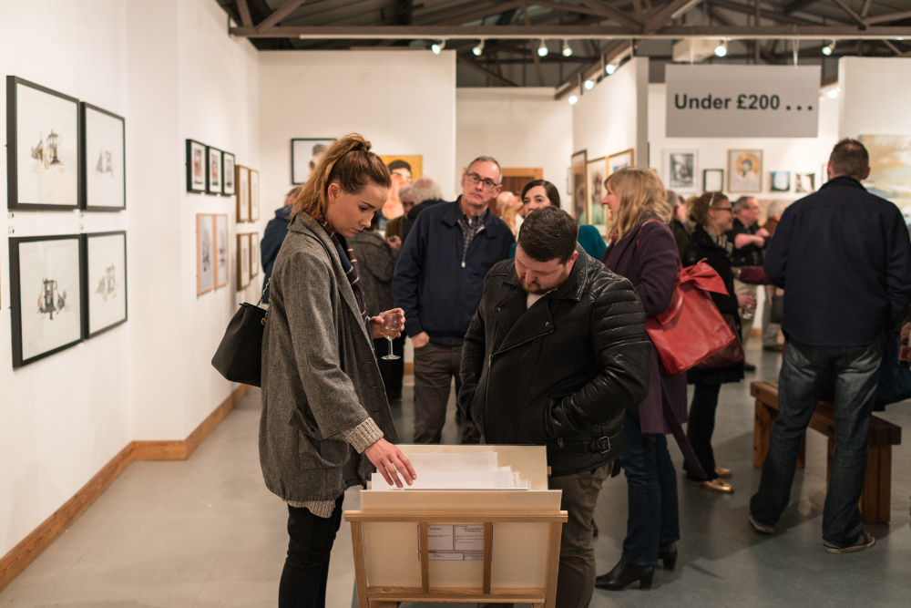 Liverpool Art Fair at The Gallery Liverpool, May 2016