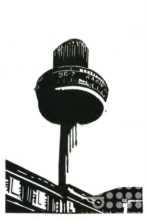 Radio City - Black & White by
