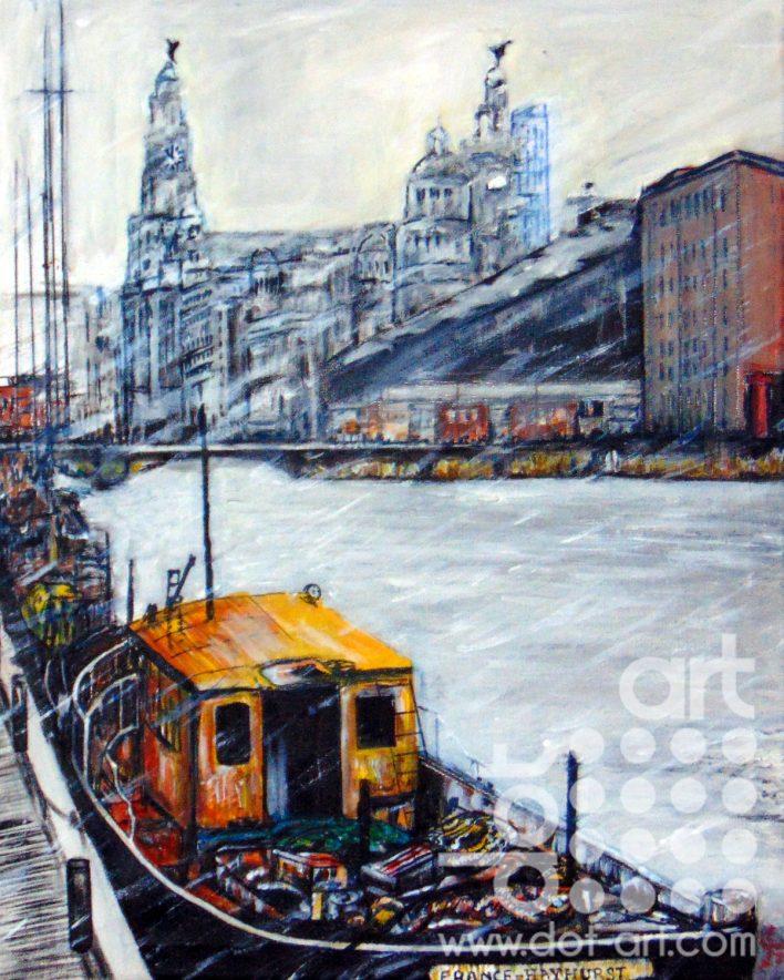 The Albert Dock by Martin Kavanagh