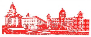 Three Graces – Red & White by