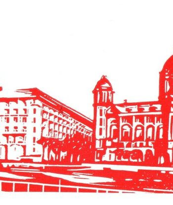 Three Graces - Red & White by