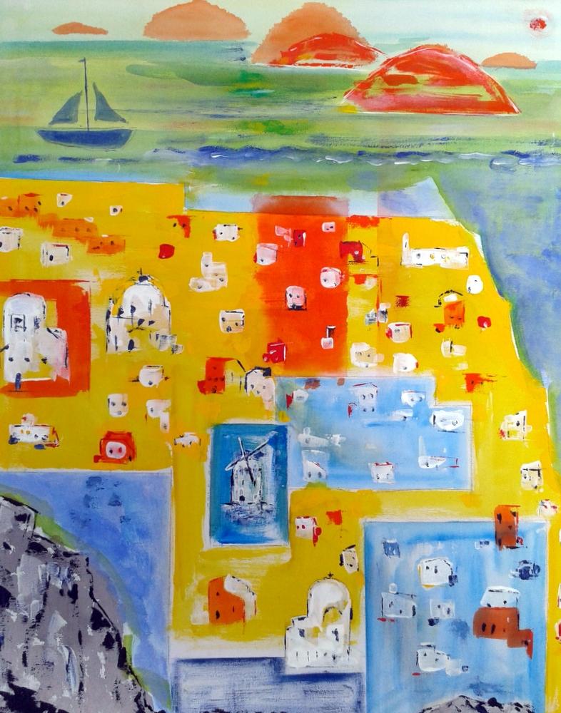 Greek Island by Winston Douglas