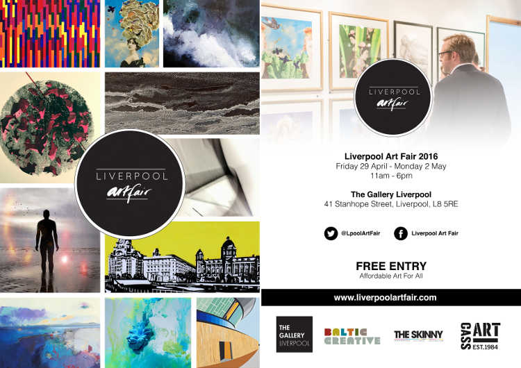 Liverpool Art Fair 2016 Flyer