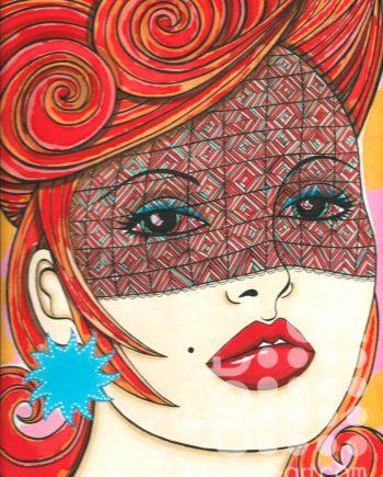 Red 2 by Catherine Evans Jones