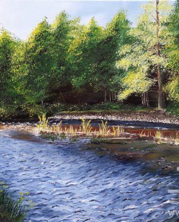 River Druie by Hazel Thomson